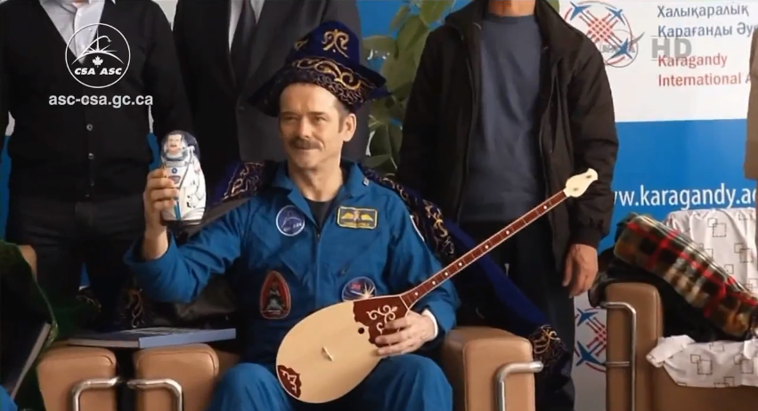 Forget Presidents and Dictators, in Kazakhstan you can be the king of space.