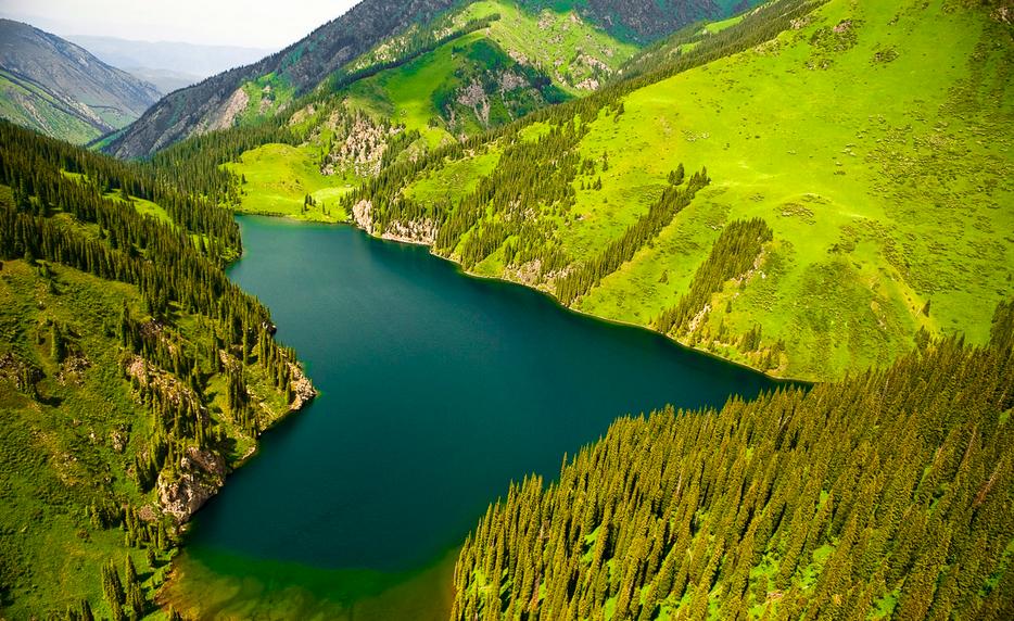 Beautiful Mountains in Kazakhstan