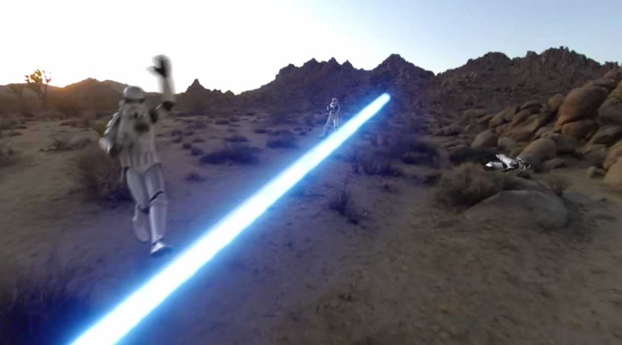 Jedi shows off a day in the life using his GoPro