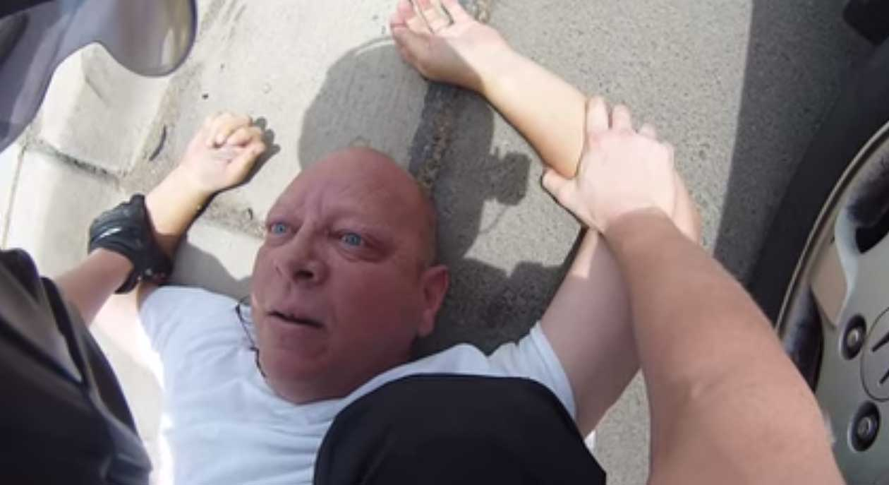 Scary road rage encounter captured by victim's GoPro