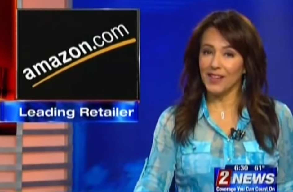 News anchor reveals Amazon's key to success and we are speechless