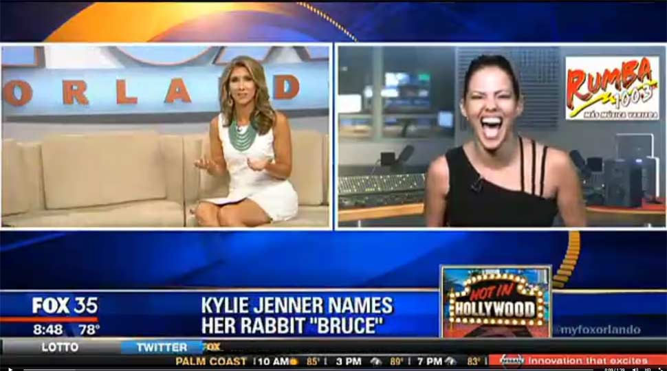 News anchor loses it over Kardashians story