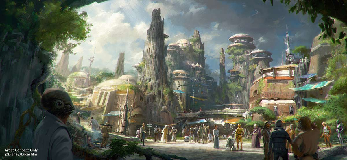 Star Wars lands coming to Disney