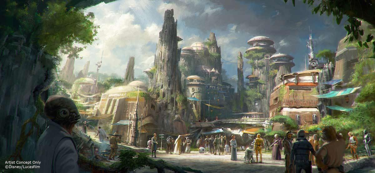 Star Wars lands coming to Disney
